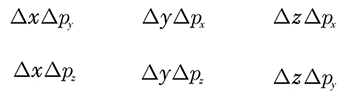Heisenberg's Uncertainty Principle for mixed directional axes
